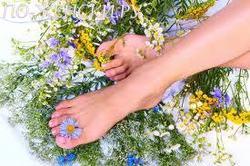 Народные средства от потливости ног