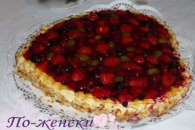Рецепт торт сердце Валентинка