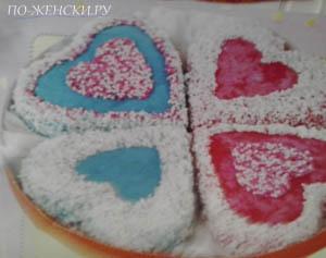 Валентиново печенье рецепт
