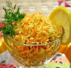 Салат с топинамбуром