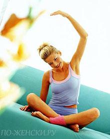 Как убрать живот и уменьшить талию.упражнения