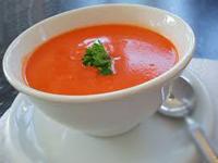 Суп из свежих помидор