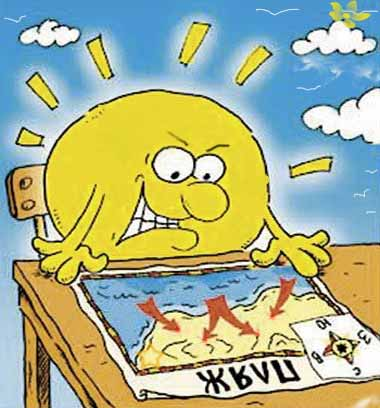 Как избежать солнечный удар