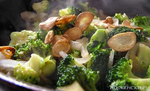 Рецепты брокколи