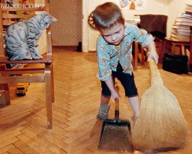 приучить ребенка к порядку