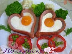 В День Святого Валентина рецепты