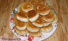 Рецепт медовых оладьей