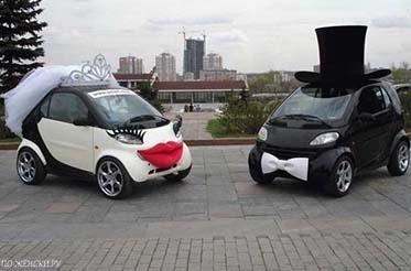 автомобиля на свадьбу