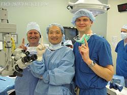 Операция или очки