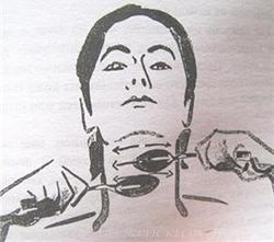 Ложечный массаж техника
