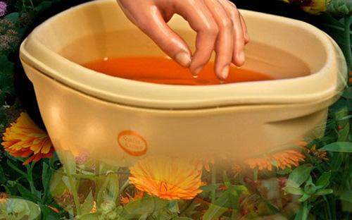 Ванночки для рук домашнего приготовления