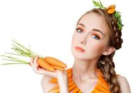 Снимет раздражение кожи морковь