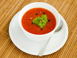томатный суп пюре
